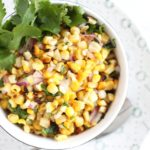 Cilantro & Lime Grilled Corn Salad