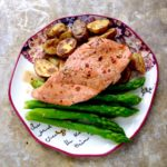 30-Minute Meal // Chili Maple Trout with Potatoes & Asparagus