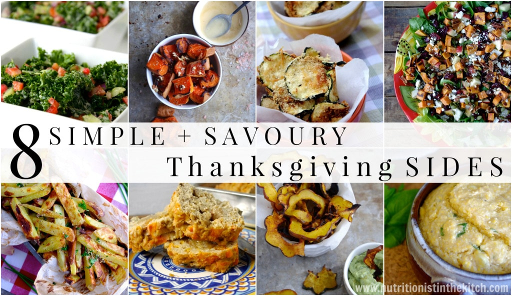 8 Simple & Savoury Thanksgiving Sides