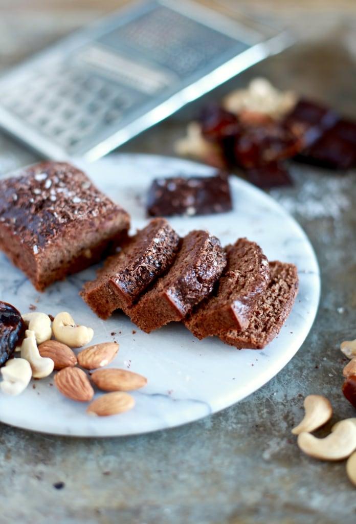 5-Ingredient Chocolate & Sea Salt Mini Loaf // Grain & Dairy Free