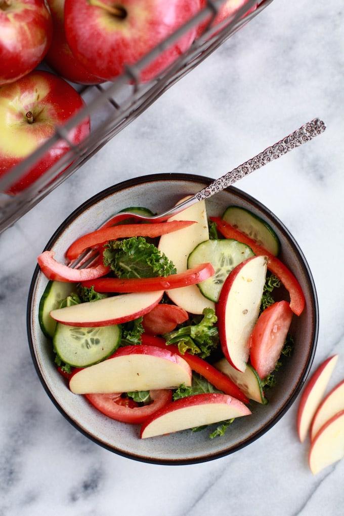 Apples make the best Salad Topper!
