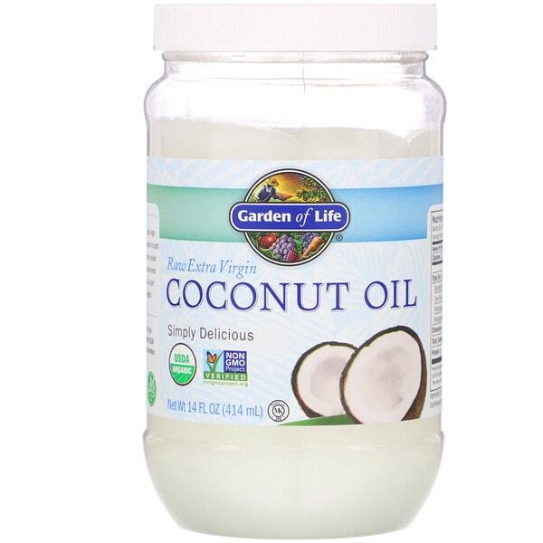 Garden of Life Coconut Oil, 14 fl oz