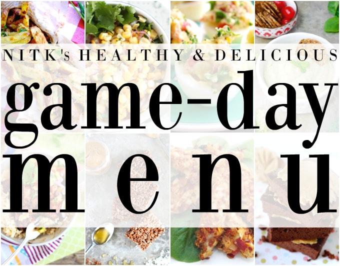 NITK's Healthy & Delicious GAME DAY Menu