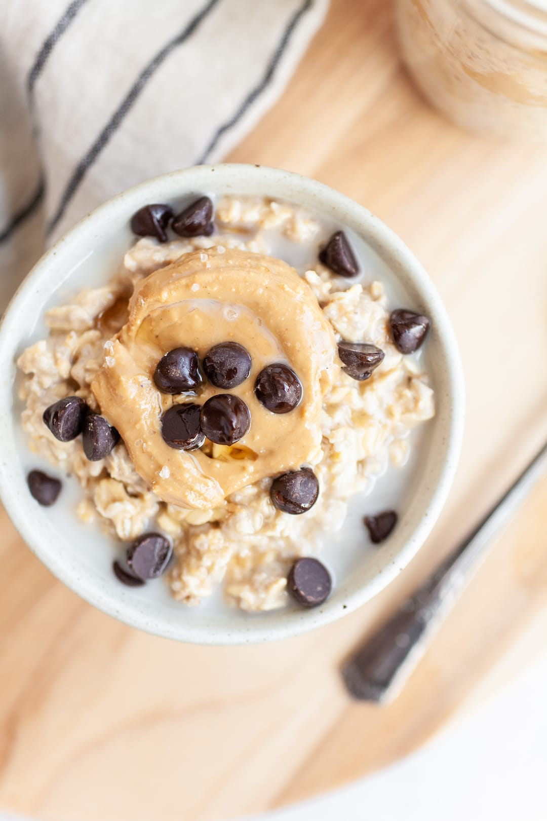 The Best Vegan Protein-Packed Cookie Dough Overnight Oats