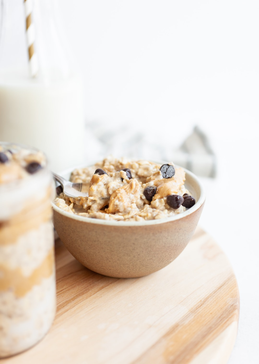 Unreal Vegan Protein-Packed Cookie Dough Overnight Oats
