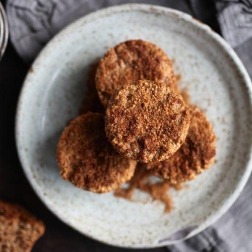 Healthy Gluten Free Cinnamon Churro Muffins