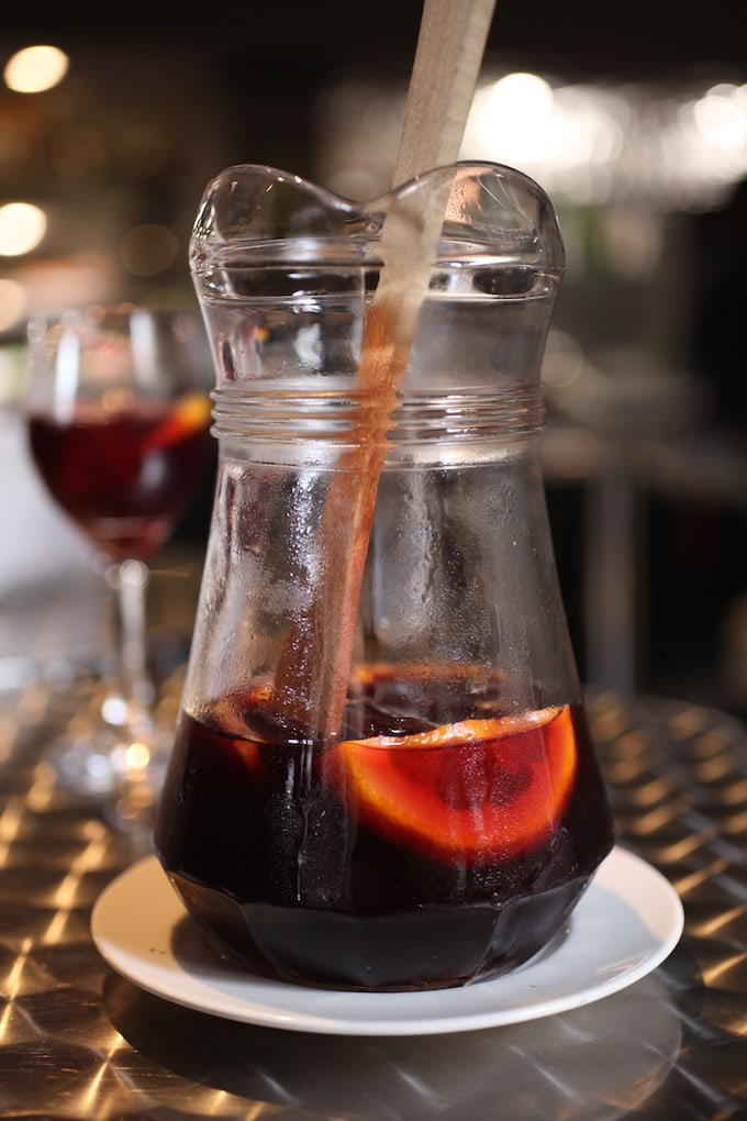 NITK's Healthy Barcelona City Guide - Sangria at Mercat De La Boqueria