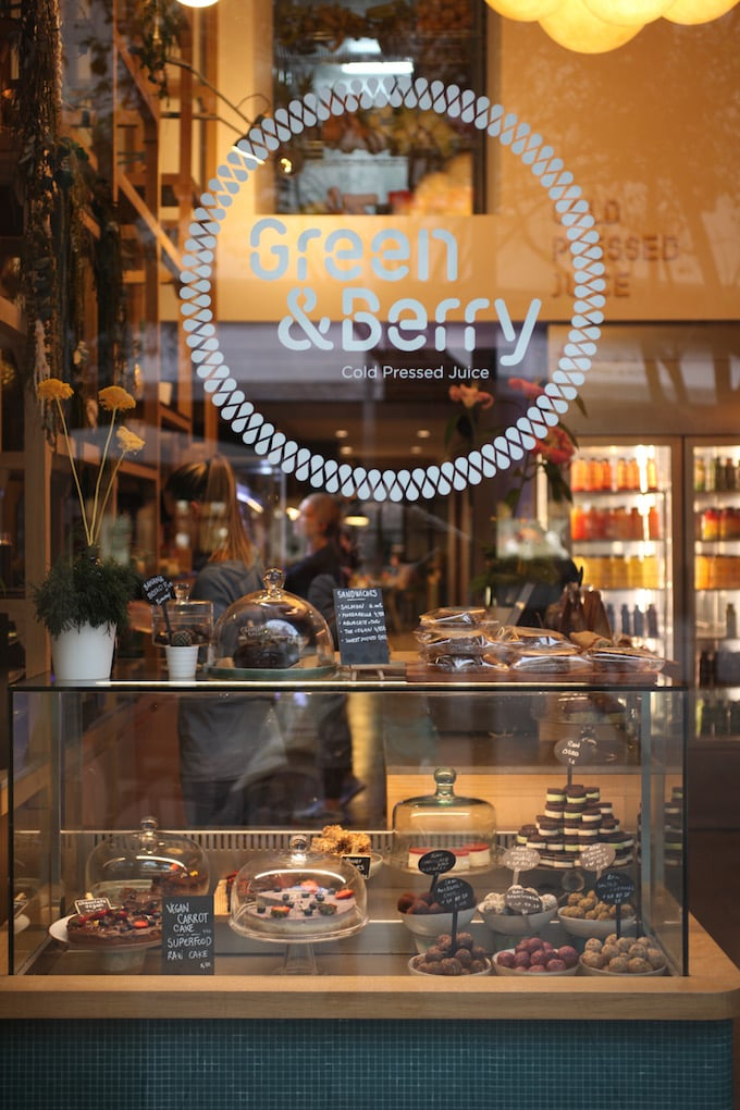 NITK's Healthy Barcelona City Guide - Green & Berry