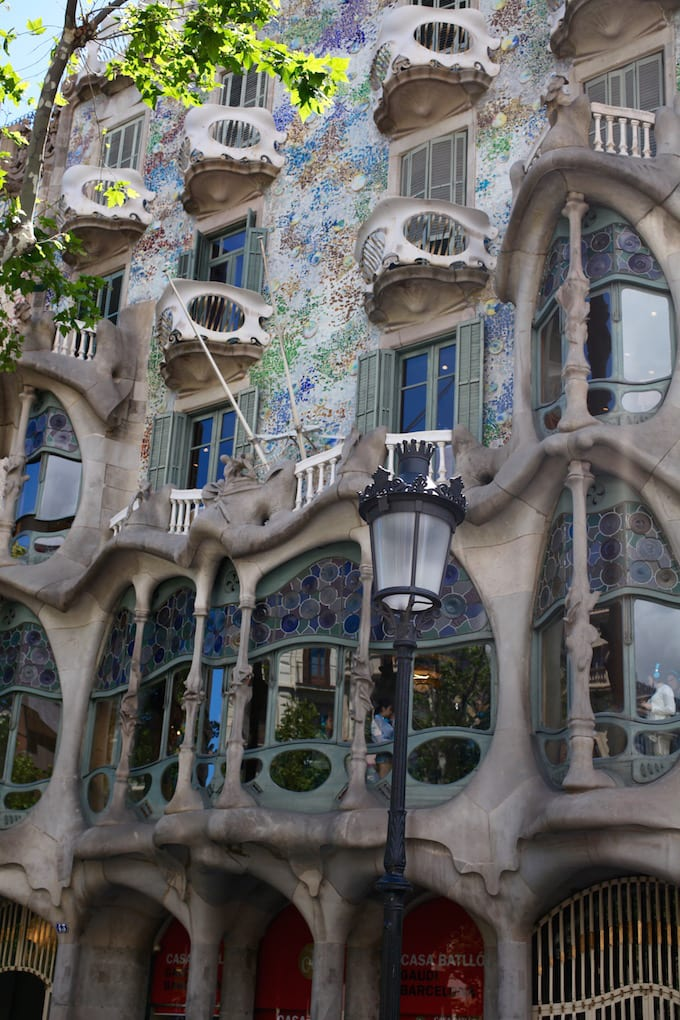 NITK's Healthy Barcelona City Guide - Gaudi Architecture