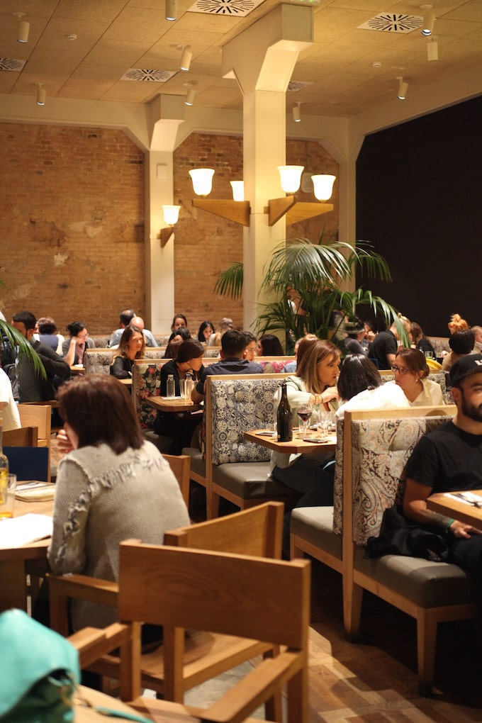 NITK's Healthy Barcelona City Guide - Inside Flax & Kale Restaurant