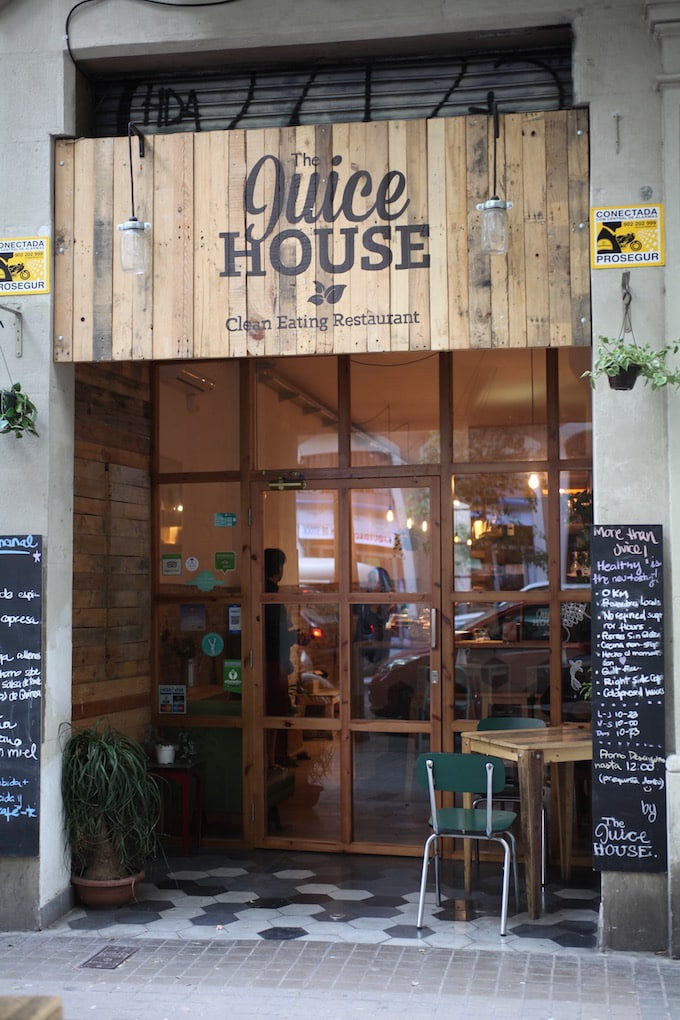 NITK's Healthy Barcelona City Guide - Lunch at The Juice House