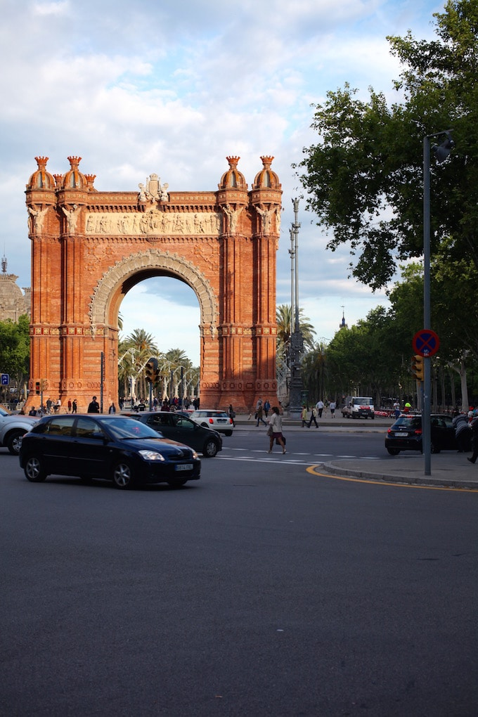 NITK's Healthy Barcelona City Guide - Arc de Triomf