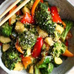 Quick & Easy Stir Fry Veggies // GF & DF
