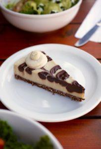 Raw Triple Chocolate Cheesecake from Harlow