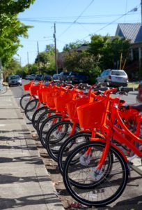 Portland's Biketown bicycles