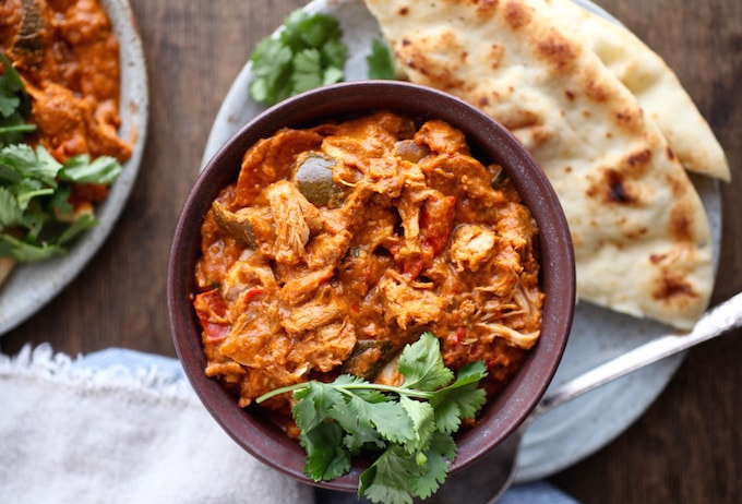 Dairy-Free Slow Cooker Butter Chicken // GF