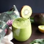 Kale & Kiwi Supercharged Smoothie // NITK Wellness Program January Promo