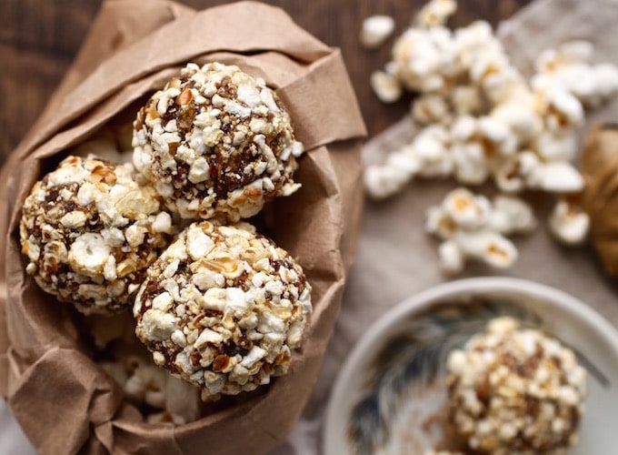 Sweet & Salty Popcorn Balls // My Cookbook is now available for Pre-Sale!!