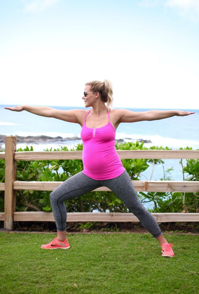 My Pregnancy Exercise Plan: What's Worked & What Hasn't! via Nutritionist in the Kitch