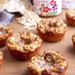 Hemp & Honey Carrot Cake Oat Cups // Gluten & Dairy Free