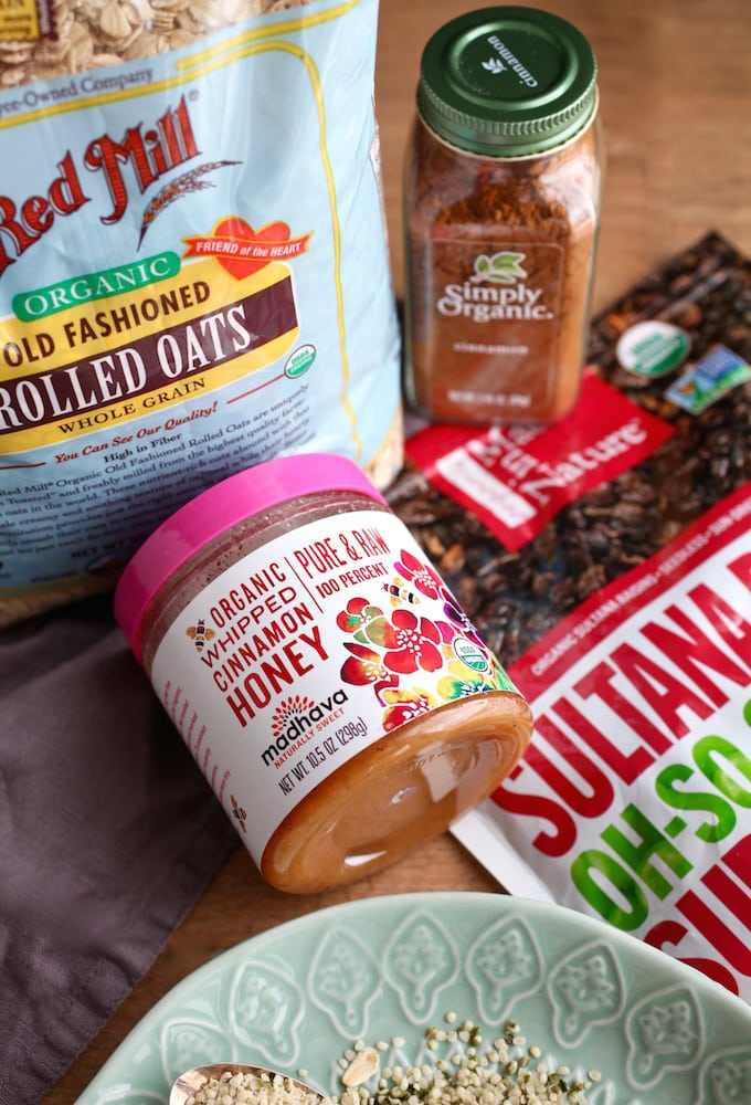 Hemp & Honey Carrot Cake Oat Cups // Gluten & Dairy Free via Nutritionist in the Kitch