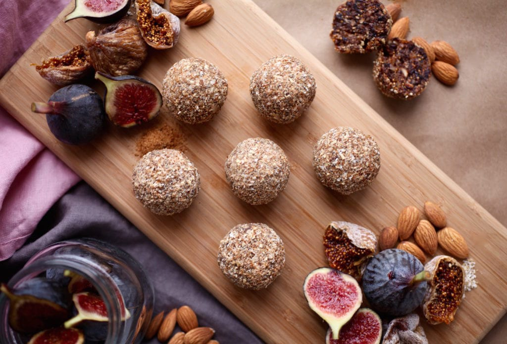 Fig and Almond Energy Balls & Prepping for Baby