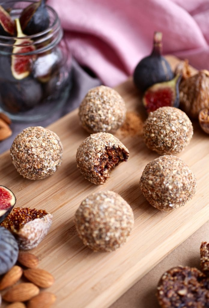 Fig and Almond Energy Balls & Prepping For Baby via Nutrition in the Kitch