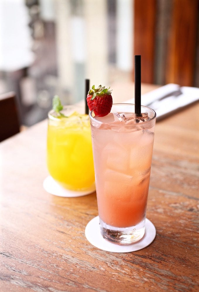Drinks at Millhouse