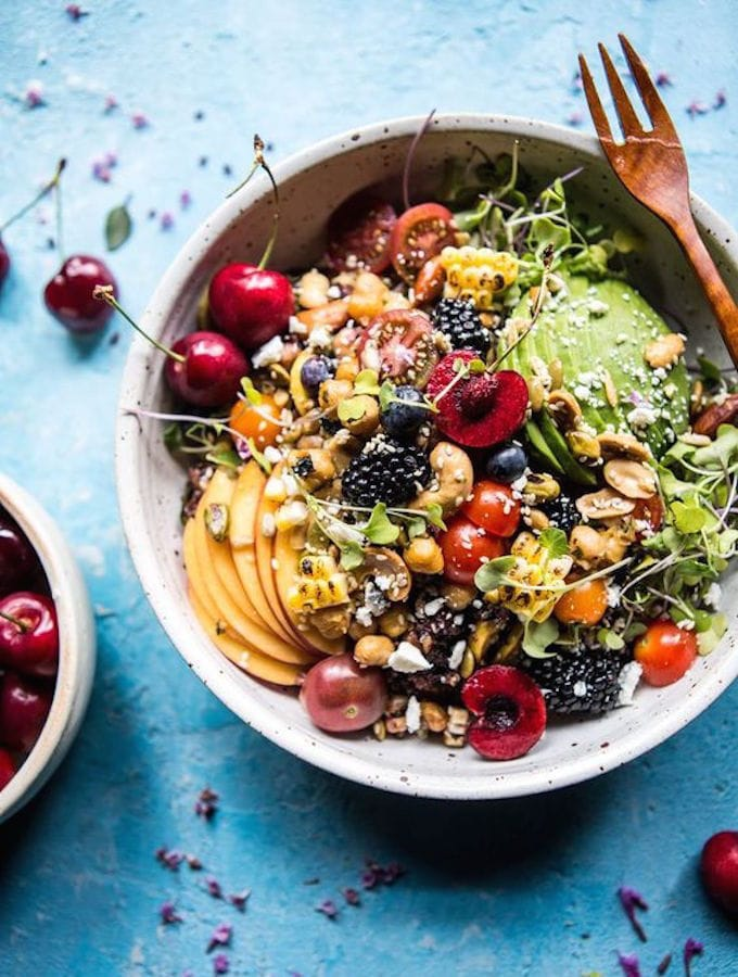 Summer Abundance Salad from Half Baked Harvest