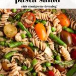 Gluten Free Pasta Salad Pin