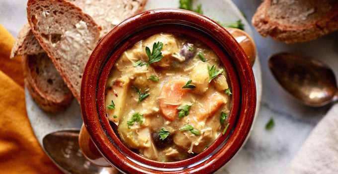 30-Minute Herbed Chicken & Potato Stew