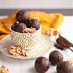 Mocha Walnut Energy Balls via Nutrition in the Kitch
