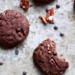 DOUBLE CHOCOLATE CHIP PECAN COOKIES