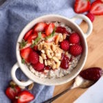 PB & J Oats Power Bowl // The Power Bowls Cookbook is Officially Published!