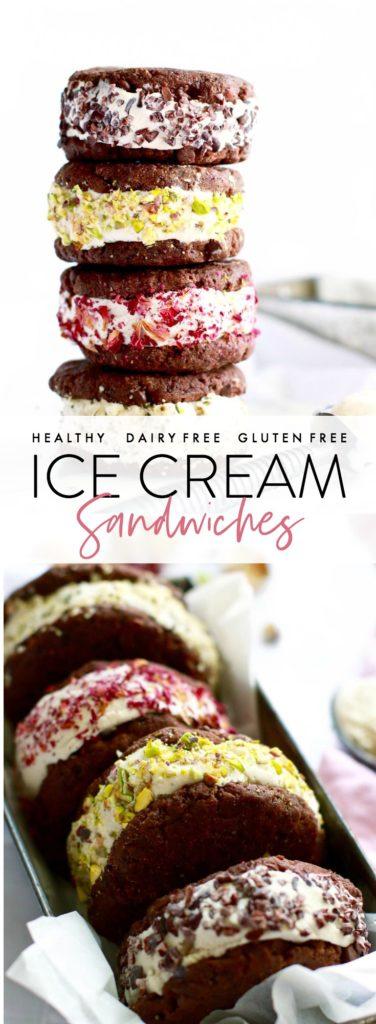 healthy-ice-cream-sandwiches #glutenfree #dairyfree