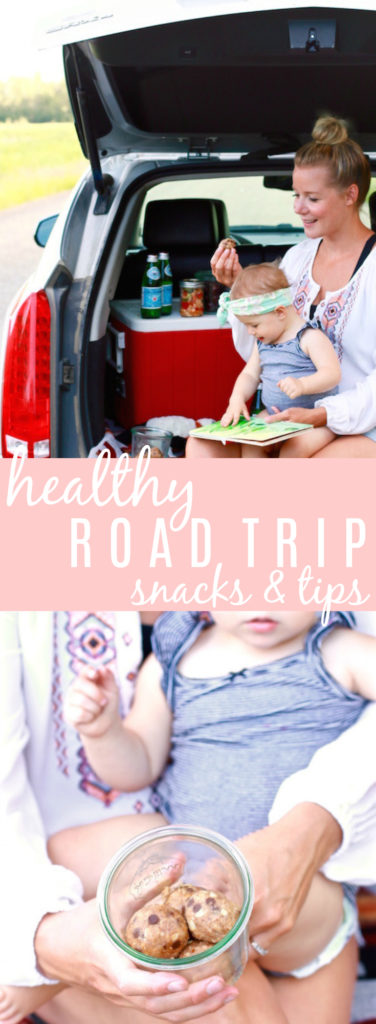 Healthy Road Trip Snacks & Tips