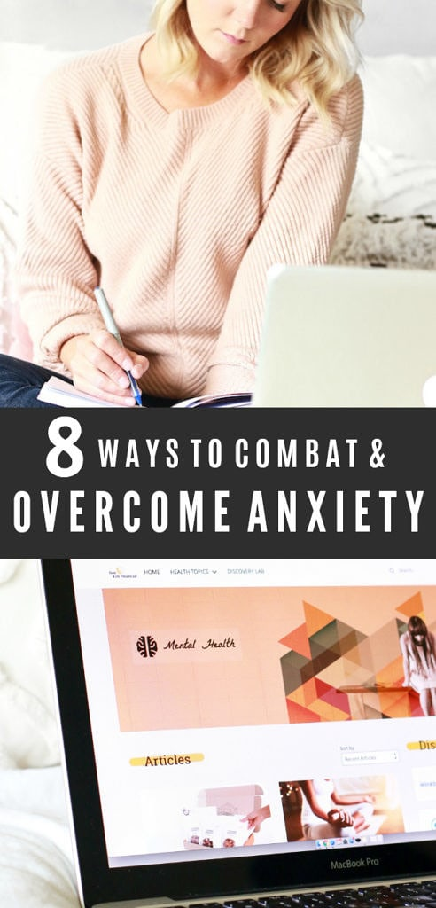 8 Tips To Overcome Anxiety