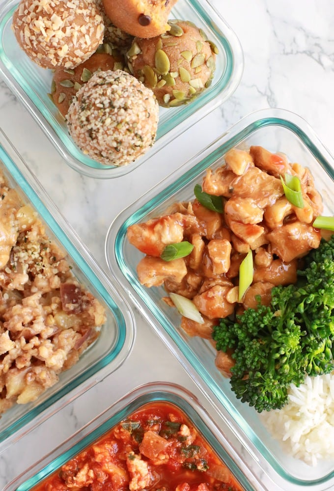 5 Easy Fall Meal Prep Recipes (Healthy, For Beginners, Gluten Free, Dairy Free) www.nutritioninthekitch.com