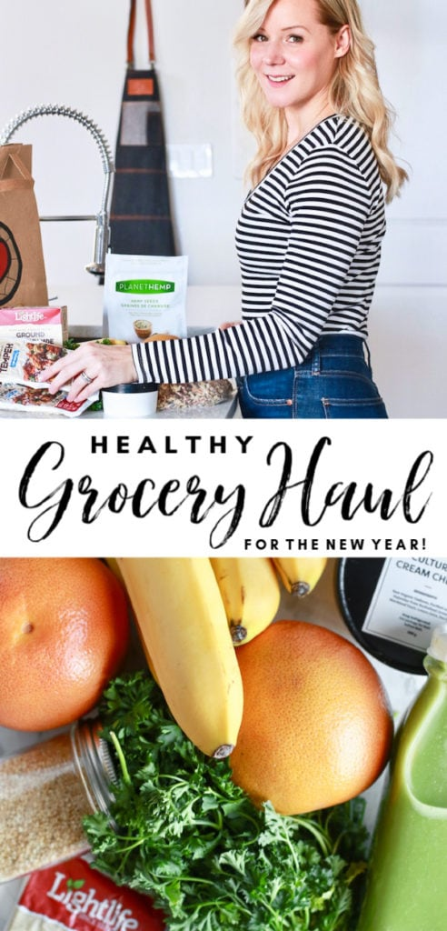 This healthy grocery haul is full of plant based foods to incorporate into your diet for the new year, whether you eat plant based already or just want to add vegan friendly or plant based foods to your current diet! There's great options to choose from and all the foods have great health benefits! #Lightlife