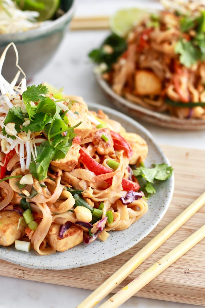 Easy and healthy gluten free Pad Thai