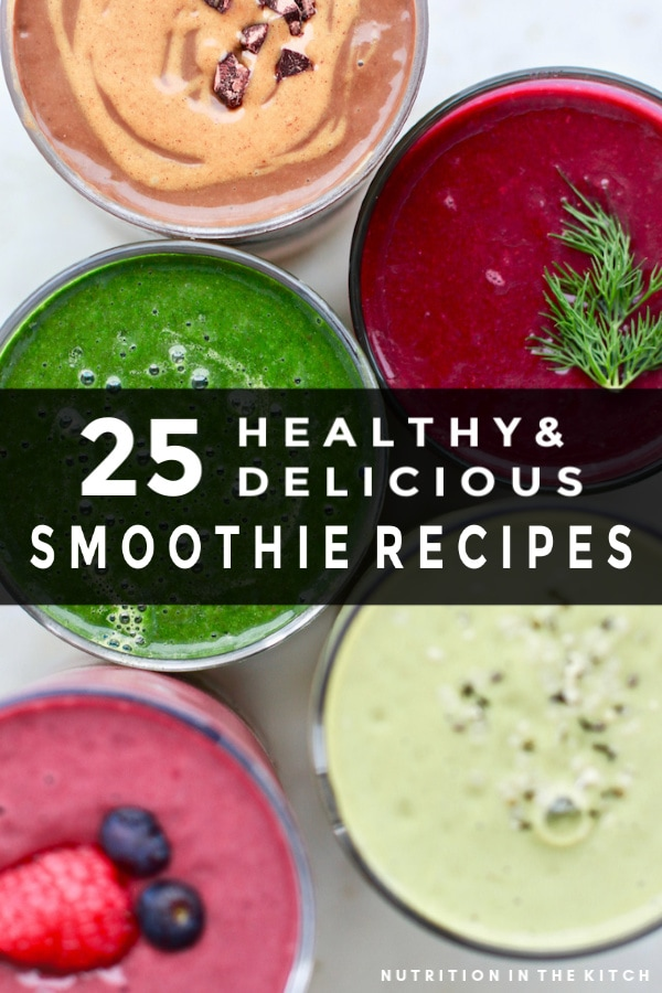 25 Healthy Smoothie Recipes