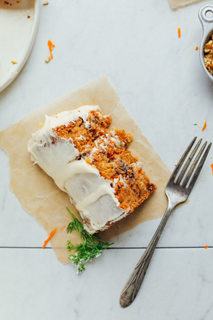 The Best Vegan Gluten Free Carrot Cake