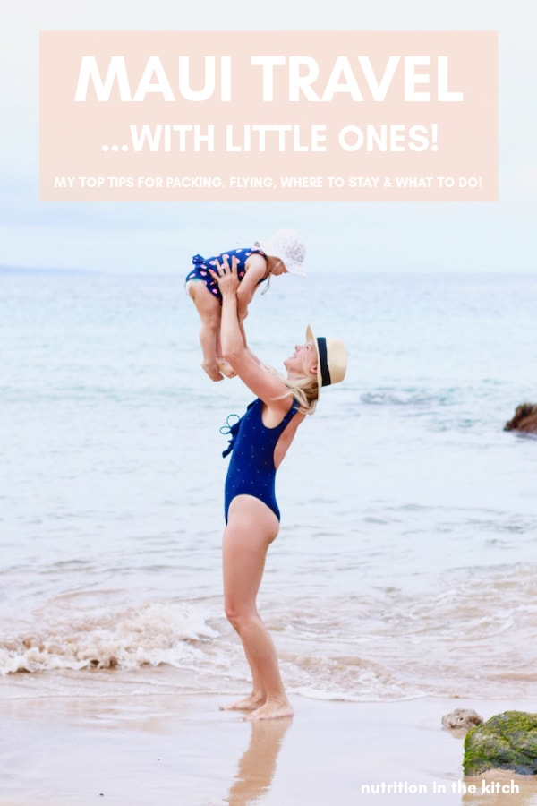 Planning a Hawaii Vacation? Check out these Maui travel tips with great ideas on how to travel Maui with toddlers, babies, or little kids, including the best beaches, where to stay, what to do, packing lists, and more! A great Maui travel guide!