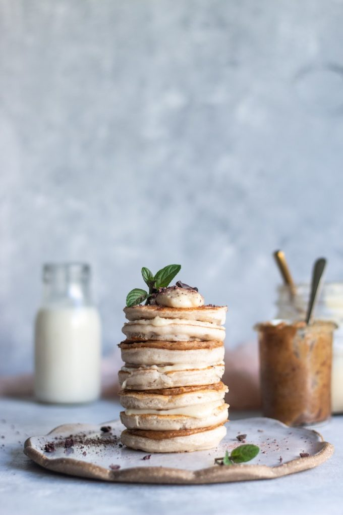 10 Healthy Buckwheat Pancake Recipes To Drool Over // Vanilla Buckwheat Pancakes from Sarah Bell Nutrition