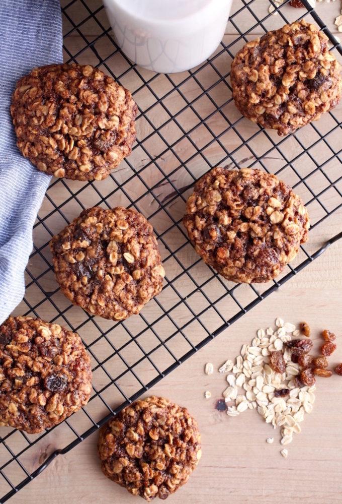 9 Surprisingly Healthy Gluten Free Oatmeal Raisin Cookies