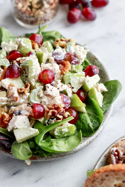 The Best Dairy Free Healthy Chicken Salad