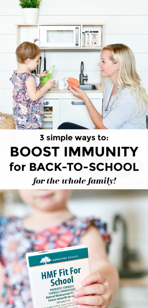 Learn how to boost immunity and improve wellness this Fall (September to December) and Back-To-School season with these three simple tips! Find out the BEST Probiotics for Kids and how to beat colds and flus !