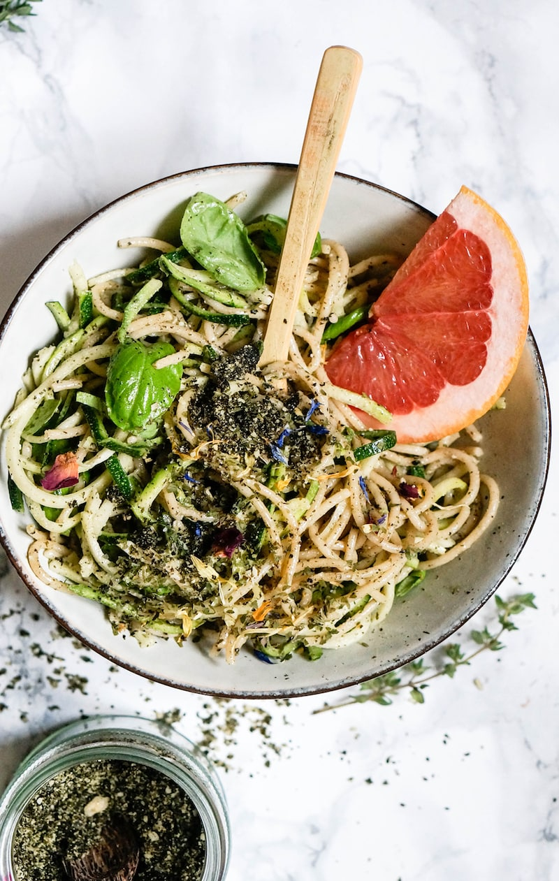 Healthy Pesto Recipes: 15 Unique & Delicious Options - Macadamia Pesto Pasta