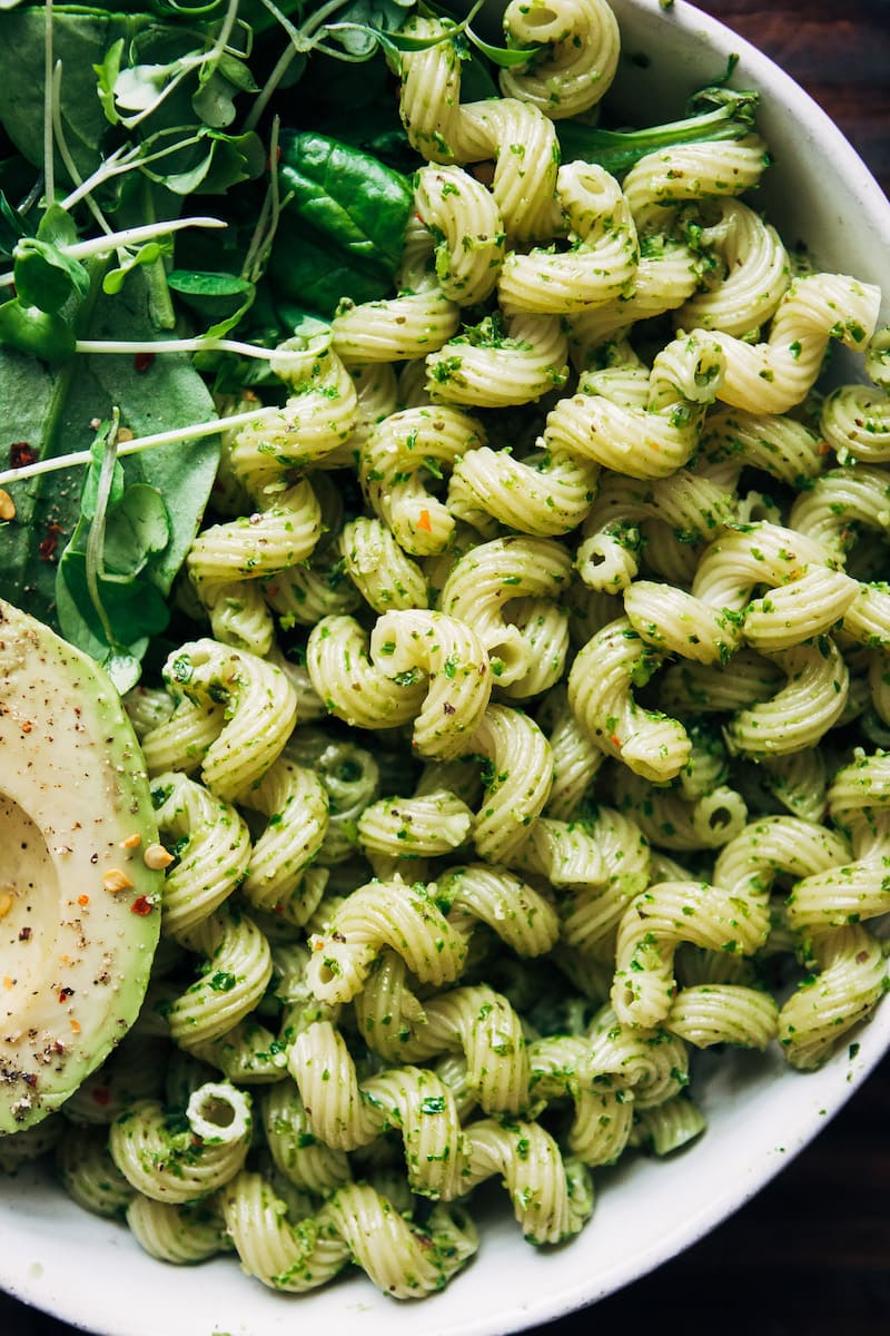 Healthy Pesto Recipes: 15 Unique & Delicious Options - Vegan Kale Pesto