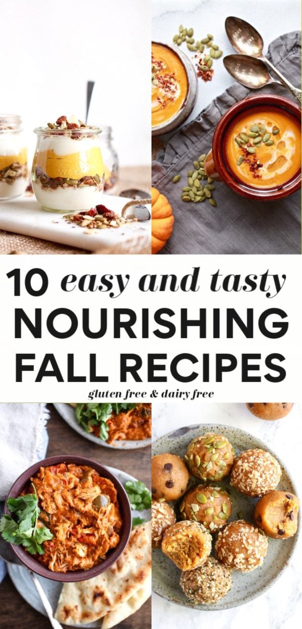 10 Terrific & Simple Healthy Fall Recipes - Breakfasts, Snacks, Mains, Desserts